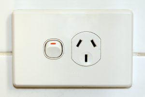 electricity - type I (socket, Clipsal)