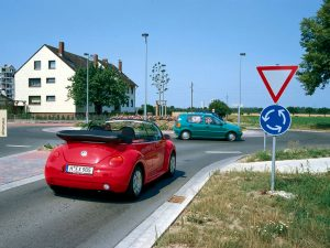 cars - roundabout in Germany