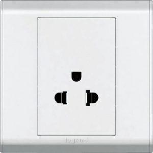 electricity - type O (hybrid socket, single)